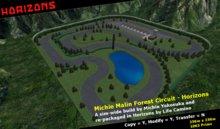 HORIZONS Scene - Michie Malin Forest Circuit  Race Track