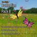 Butterflies - Pack 8 (Free-Flight)