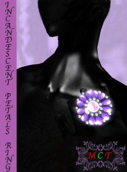 [Stuffery] Incandescent Petals Ring