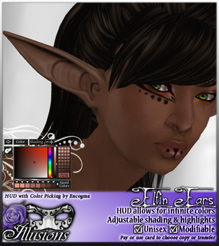 *~*Illusions*~* Elfin Ears