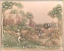 Victorian Farm Scene