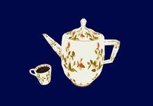 Jewel Tea Pot - Scripted