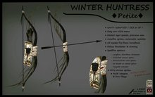 WINTER HUNTRESS - PETITE v2.1