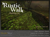 :NEW: Rustic Wall Building Set - 100% MESH