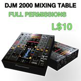 DJM 2000 DJ mixing table
