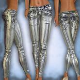 Club silver pants