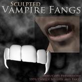 <CTD> Sculpted Vampire Fangs ~Boxed~