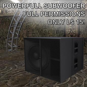 SubWoofer Full Permissions