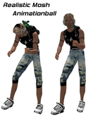 Mosh metal animation ball