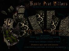 Haute Seat Pillow - Tapestry Mink Zebra