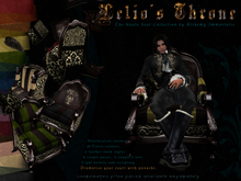The Haute Seat Collection: Lelio's Throne - Brown Leather