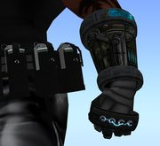 Cyber ArmsWith Stun Knuckles