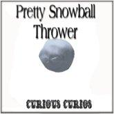 Pretty Snowball Thrower