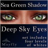 Mayfly - Deep Sky Eyes (Sea Green Shadow)