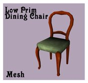 Mesh Victorian Dining Chair