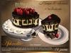 Aphrodite Sacher torte with mango & cherries (boxed)
