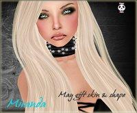 Panda Punx Miranda May Shape & Skin Gift