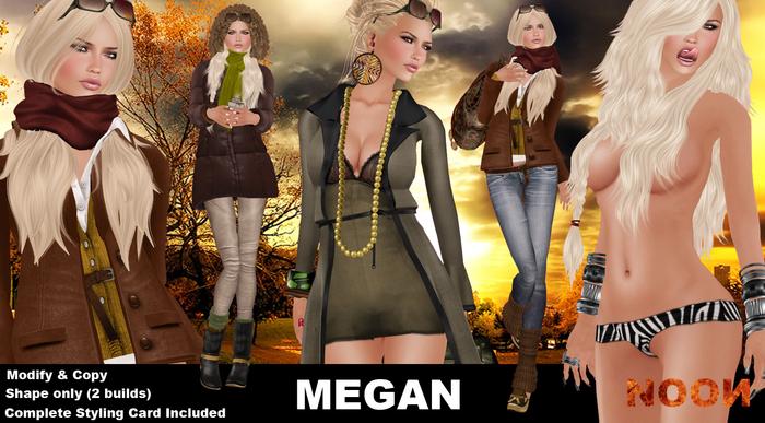 .::NOON::. Megan Female Shape - Women shape line