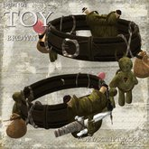 Toy Brown Belt by Eruption