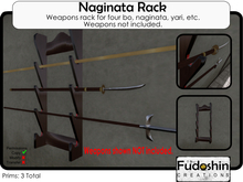 Naginata Weapons Rack