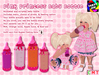 [S.K.] Pink Princess Baby Bottle