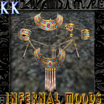KK Jewelry: Egyptian Set GOLD