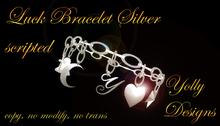 Luck bracelet silver