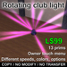 Rotating club lights