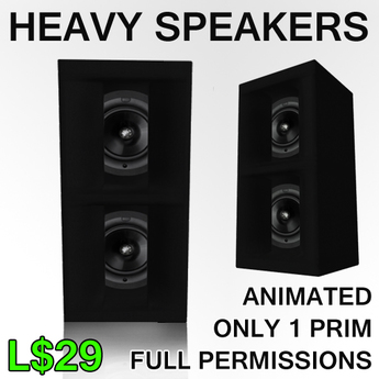 Heavy club speakers
