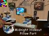 [S.K.] Midnight Hideout Pillow Fort