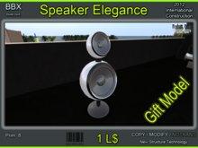Build boX 2012 - Elegance Speaker