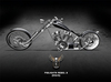 PIXLIGHTS FACTORY REBEL CHOPPER 2 BLACK (without bags)
