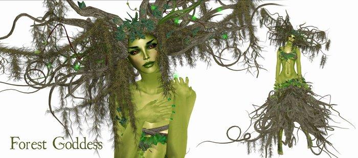 Boudoir -Forest Goddess