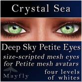 Mayfly - Deep Sky Petite Eyes (Crystal Sea)
