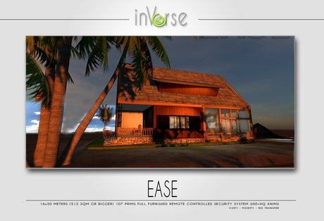 EASE - FULL FURNISHED HOUSE SKYBOX 300+ ANIMS