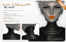 Hello Spacegirl - Ilia Collar Black (MESH)