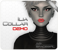Hello Spacegirl - Ilia Collar DEMO (MESH)