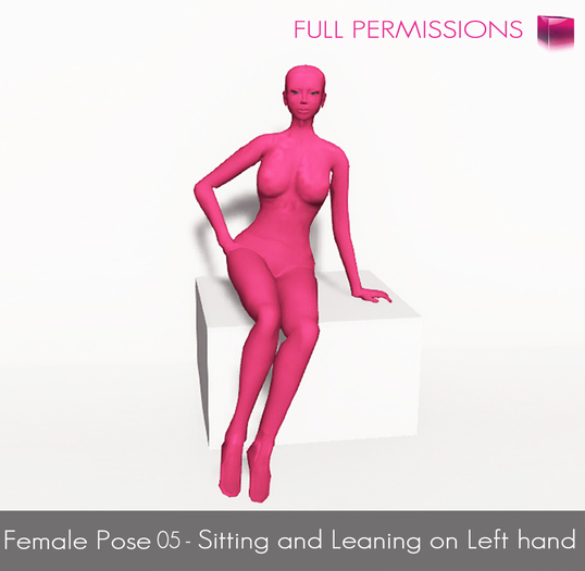 MI Full Perm Female Model Pose 05 - Modeling Poses, Photoghraphy Poses
