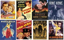 Vintage Movie Poster Texture Pack