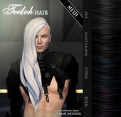 /Wasabi Pills/ Teeloh MESH Hair - MALE - Blacks Pack - DISCOUNTED