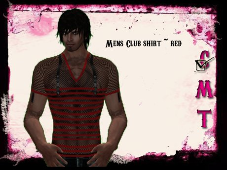 ::Sweet Intoxication:: Men's Club Shirt - Red