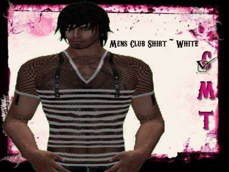 ::Sweet Intoxication:: Men's Club Shirt - White