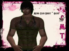 ::Sweet Intoxication:: Men's Club Shirt - Olive