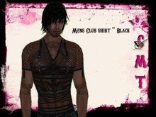 ::Sweet Intoxication:: Men's Club Shirt - Black