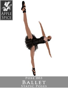 Apple Spice - Ballet Pose 003