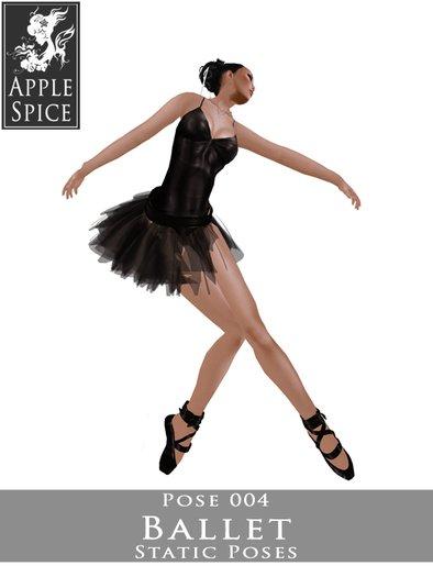 Apple Spice - Ballet Pose 004