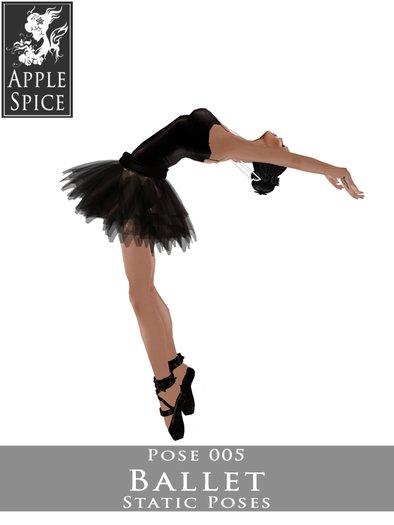 Apple Spice - Ballet Pose 005