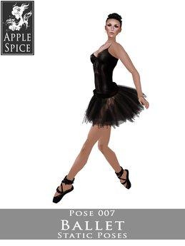 Apple Spice - Ballet Pose 007