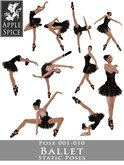 Apple Spice - Ballet Poses 001-010 Fatpack