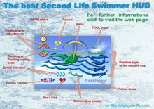 The Second Life Swimmer 3.0 - 3000 items sold in 2012! - a kiss included